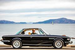 Classic Beauty on the Bay (Thomas Hawk) Tags: 30cs america bmw bmw30cs bmwe9 bavarianmotorworks bayarea bayerischemotorenwerke bimmer california chloe e9 fortpoint sf sfbayarea sanfrancisco scottjordan standardpoodle usa unitedstates unitedstatesofamerica westcoast auto automobile car classiccar dog poodle sharknose ultimatedrivingmachine vintagecar werks fav10 fav25 fav50