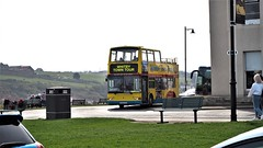 Whitby Open Top Tour Bus 2019. (ManOfYorkshire) Tags: coastalcountry half open top tour bus opentop whitby yorkshire northyorkshire seaside holidays volvo b7tl plaxton president pvl196 london exlondon converted northcliff