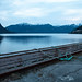 Blue hour on Stordal pier