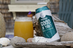 Good N' You? (brucetopher) Tags: beer brew craft goodnyou good you ipa indiapaleale india pale ale springdale jacksabbeybrewing jacks abbey brewing yellow teal spring floral hops hop flavorful craftbeer craftbrew smallbatch americancraftbeer american drink springtime celebrate celebration seasonal