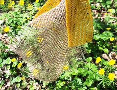 spring colors (Rosmarie Voegtli) Tags: fabric net grid meadow dornach flowers