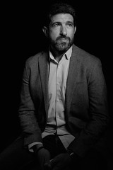 Retratos (Fran Ponce Photographer) Tags: retratosblancoynegro portraits actor blackandwhite retratos