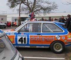 1980 Ford Fiesta (jane_sanders) Tags: goodwood motorcircuit westsussex sussex 77thmembersmeeting 77mm membersmeeting fordfiesta ford fiesta gerrymarshalltrophy