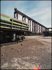 (selfoxide) Tags: 6x45 bronicarf645 cityscape color decay film kodakaerocolor125 mediumformat