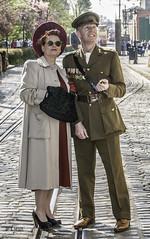 Crich 1940s Weekend 2019 pic2 (walljim52) Tags: crichtramwayvillage crich derbyshire 1940s event actor reenactor wartime ww2 soldier civilian military uniform costume