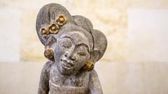 Museum Puri Lukisan at Ubud (Hans van der Boom) Tags: vacation holiday sawadee asia indonesia indonesie bali ubud museum purit lukisan indonesian art statue small