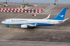 XIAMEN AIR B737-800(WL) B-5707 001 (A.S. Kevin N.V.M.M. Chung) Tags: aviation aircraft aeroplane airport airlines plane spotting macauinternationalairport mfm boeing b737800wl b737 apron