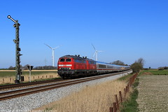 218 397/344 (Tradar_204) Tags: 218 br218 397 344 intercity ic klanxbüll westerland sylt itzehoe altona formsignal