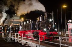BR 91 134 (giver40 - Sergi) Tags: dresden dampflok steamlocomotive locomotora de vaporrotonda vapor steam nocturna dampfloktreffen sajonia drehscheibe br91