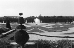 Latona's parterre, château de Versailles (prissynme) Tags: nikonfg20 35mmf20 neopan400 filmexpired film chateaudeversailles