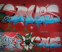 CAW x AWK9/9 x SAVESView Post (UK Graff) Tags: graffiti uk graff