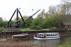 20190415 0044 Diglis Boatyard River Severn East Walk Worcester (rodtuk) Tags: 4star boat engineering england flipublic flickr midlands misc phototype places rating rodt roderict roderickt uk vehboat vehicle wip worcester worcestershire