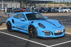 Porsche 911 GT3 RS (CA Photography2012) Tags: aj16wdr porsche 911 gt3 rs coupe miami blue 991 series generation gt3rs rennsport renn sport supercar sportscar super sports legend lightweight trackcar ca photography automotive exotic car spotting automobile vehicle
