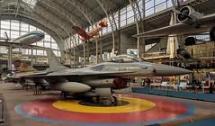 General Dynamics F-16 Fighting Falcon (jmaxtours) Tags: royalmuseumofthearmedforcesandmilitaryhistory generaldynamics f16 fightingfalcon brusselsbelgium belgique buxe bruxellesbelgique bruxelles museum airplane fighter fighterjet brussels belgium