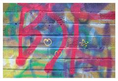 little hearts (mcfcrandall) Tags: graffiti colours hearts star outside spraypaint toronto