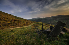 stay on the path (Glen Parry Photography) Tags: glenparryphotography landscape calderdale d7000 landscapephotography moorland nikon nikond7000 nikonphotographer nikonphotography sigma sigma1020mm todmorden westyorkshire walking hiking path