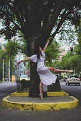 Dancing (Aldo VC) Tags: select ballet dancer dancing street woman urban