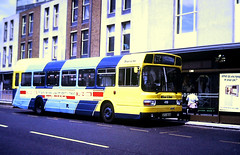 Slide 138-09 (Steve Guess) Tags: southampton hampshire hants england gb uk bus solent blueline leyland national ufx850s musterphantom