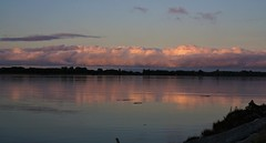 Morning clouds over the Fraser River (pwilson5831) Tags: canada bc richmond morning clouds