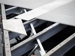 Lining Up (Sotosoroto) Tags: renton washington coulonpark construction dock lakewashington