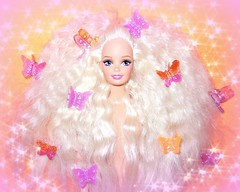 Spread your wings and prepare to fly (Bratzjaderox™) Tags: butterfly clips diva iconic barbie hunty neon paradise 90s 80s cute girl clip extensions