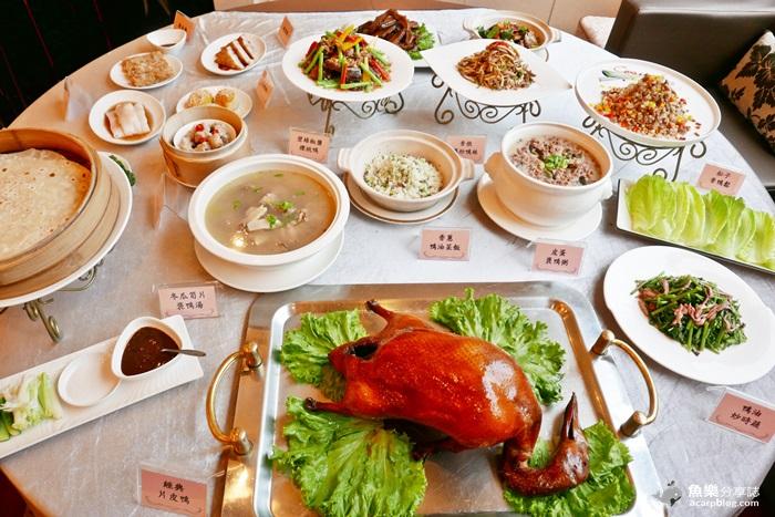 【台北信義】TICC世貿會館│天成大飯店 翠庭中餐廳│明爐烤鴨三吃 @魚樂分享誌