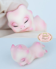 Tiny Dragon (♥..Nomyens..♥) Tags: bjd balljointdoll toy doll custom faceup paint painting painted repaint handmade nomyens nomyenscom tinydoll dragondoll