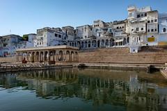 A Prayer For Your Family (realstephenwhite) Tags: pushkar fujifilm architecture travel lake ghats xe2 india
