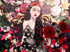 ♥♥♥ (ღ ღ[[J E SSIE ]] ღ ღ) Tags: maitreya moonamore dress roses rose avatar secondlife secondlifeblog sl style av avi blogger cute sintiklia genus babyface genusproject flower
