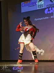ComicdomCon Athens 2019 Cosplay Contest: Classic Ahri from League of Legends (SpirosK photography) Tags: leagueoflegends lol ahri classic game videogame videogamecharacter comicdomcon comicdomcon2019 comicdomconathens2019 cosplay contest comicdom athens greece hau cosplaycontest