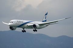 El Al Israel Airlines Boeing 787-9 Dreamliner 4X-EDA (EK056) Tags: el al israel airlines boeing 7879 dreamliner 4xeda hong kong chek lap kok airport