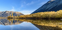 Autumn at Lake Pearson. NZ (ndoake) Tags: