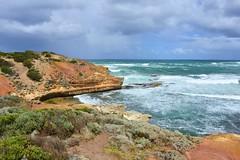 800_4557 (Lox Pix) Tags: twelveapostles australia victoria loxpix loxwerx landscape scenery seas seascape ocean greatoceanroad cliff clouds waves helicopter heritage