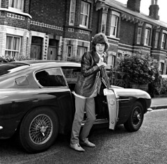 Mick Jagger & Aston Martin DB/6. (Txemari - Argazki.) Tags: