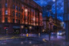 St George's House, Manchester (Kev Walker ¦ 10 Million Views..Thank You) Tags: architecture building city england manchester panoramic sky town water art background bridge britain buildings business canal castlefield center centre cityscape design downtown dusk europe european great kingdom landmark light metropolitan modern night places quays quayside reflection salford skyline skyscraper square symbol tourism tower travel twilight uk united urban view yellow rain reflections clouds