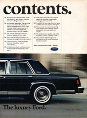 1985 Ford LTD Crown Victoria Sedan Page 2 USA Original Magazine Advertisement (Darren Marlow) Tags: