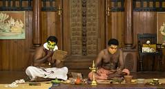 """The Moment of Adornment"" (DewanshuRoy) Tags: artist colors dance dancer dewanshuroy kathakali kerala keralkathakalicentre kochi perfromance snapsaga stage"