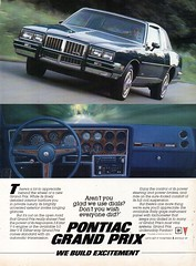1985 Pontiac Grand Prix Hardtop USA Original Magazine Advertisement (Darren Marlow) Tags: 1 5 8 9 19 85 1985 p pontiac g grand prix h hardtop c car cool collectible collectors classic a automobile v vehicle m gm general motors u s us usa united states american america 80s
