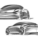 Genesis Mint concept key sketches by Samir Sadikhov. thumbnail