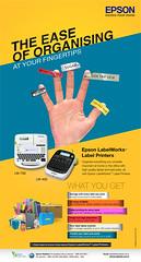 The ease of organising, at your fingertips (jitprakash2018) Tags: tagging labels label printer