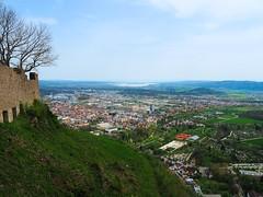 Singen at Hohentwiel (fynnnikolaus) Tags: festung ruine singen ausblick hochauflösend burg deutschland tele olympus omd stativ vulkan