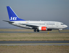 "LN-RRP, Boeing 737-683, 28311 / 382, SAS Scandinavian Airlines, ""Vilborg Viking"", CDG/LFPG 2019-02-16, entering on taxiway Delta. (alaindurandpatrick) Tags: 28311382 lnrrp 737 736 737600 737nextgen boeing boeing737 boeing737600 boeing737nextgen jetliners airliners sas scandinavianairlines airlines cdg lfpg parisroissycdg airports aviationphotography"