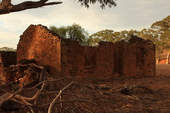 Not Much Left (Darren Schiller) Tags: australia abandoned architecture building derelict disused decaying deserted dilapidated empty farming farmhouse cottage home history heritage house rural rusty rustic ruins southaustralia