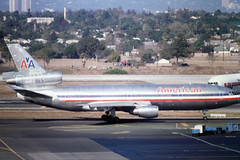 N109AA McDonnell Douglas DC-10-10 of American Airlines at LAX in Nov 1981 (johnyates2011) Tags: americanairlines n109aa mcdonnelldouglas dc10 mcdonnelldouglasdc10 lax