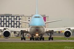 HL7610 20190423 VIE (SzépRichárd) Tags: aircraft airplane airport korean boeing 748 cargo loww