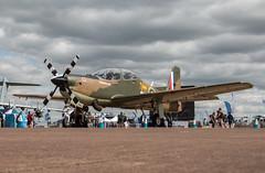 EGVA - Shorts Tucano T1 - Royal Air Force - ZF378 (lynothehammer1978) Tags: egva zf378 raffairford royalinternationalairtattoo royalinternationalairtattoo2017 shortstucanot1 royalairforce