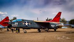 Navy Crusader . #29 (Jeffrey Balfus (thx for 5.5M views)) Tags: pimaair tucson az us sonya7iii ilce7m3 crusader jet navy