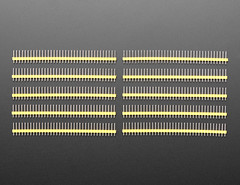 "Break-away 0.1"" 36-pin strip male header - Yellow - 10 pack (adafruit) Tags: 4152 yellow headers maleheaders 36pinheaders 36pinmaleheaders breakawayheaders breakawaymaleheaders addons adafruit electronics diyelectronics diyprojects projects diy new newproducts"