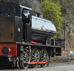 Black Bright (Feversham Media) Tags: lakesideandhaverthwaiterailway haverthwaite repulse steamlocomotives heritagerailways preservedrailways southlakes cumbria southlakeland hunsletenginecompany nationalcoalboard