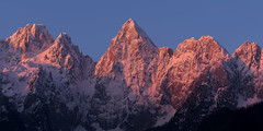 Prominent peaks (Dreamy Pixel) Tags: animal background beautiful black blue close cottage detail environment europe face field forest gozd grass green holiday illustration landscape light man martuljek meadow mountain mountains nature orange outdoors park pasture red silhouette sky slovenia snow spring summer sun sunlight sunrise travel tree up view wallpaper white wild winter yellow